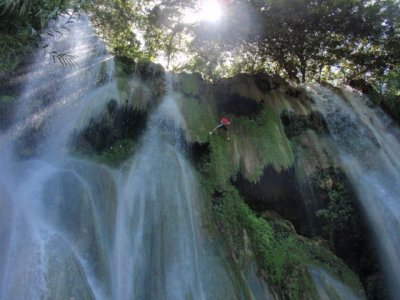 Rappel Excursion in Atzala Waterfall