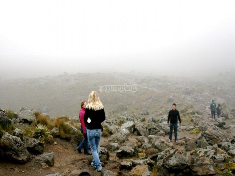 Hiking at Nevado