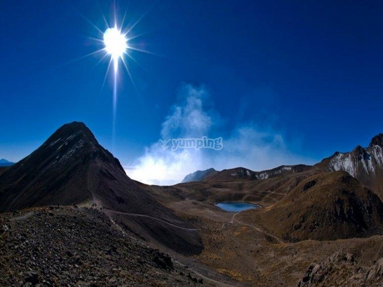 Lagoons of Nevado