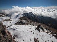 snow-covered peaks