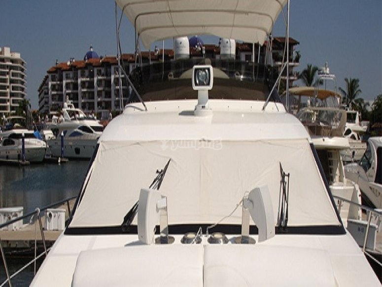 frontal del barco