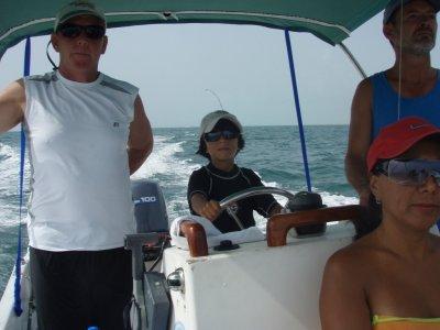 Captain Pablo Paseos en Barco
