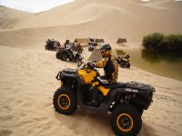 Do the adventure in the dunes