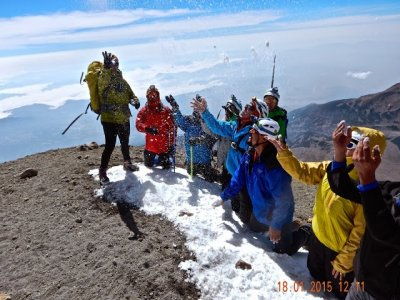 Caminata de Ascenso al Pico de Orizaba 2 días