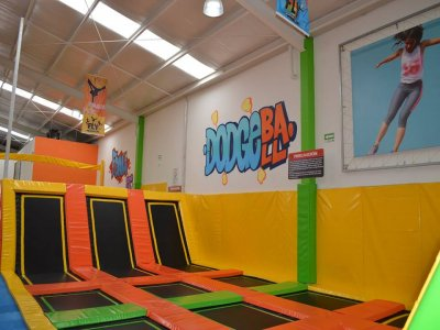 90 minutes in Fly Trampoline park