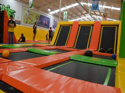 Kids party in Fly Trampoline, Jalisco