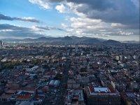 vistas de la ciudad de mexico