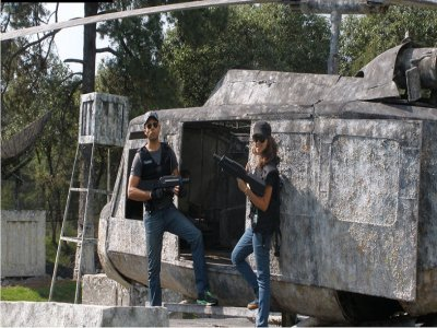 Laser tag in Ajusco or Santa Fe, 2 hours