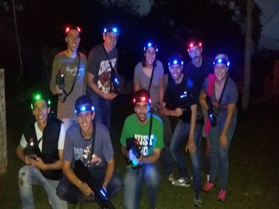 Nocturnal Laser Tag, 2 hours, Santa fe Field