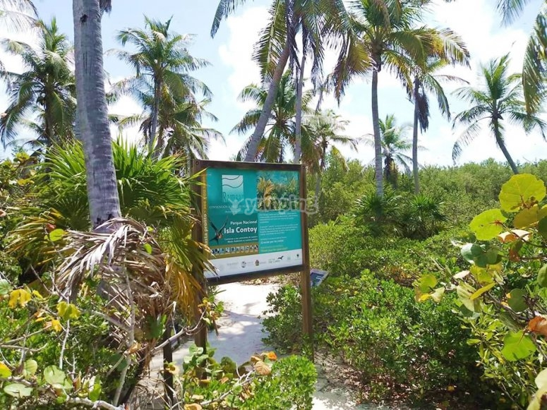 Bienvenidos a isla contoy