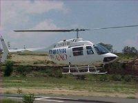 Cita en helicoptero