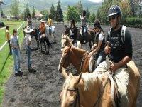 1 hour cavalcade in Morelia's forrest