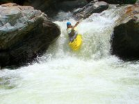 Intense rafting emotions