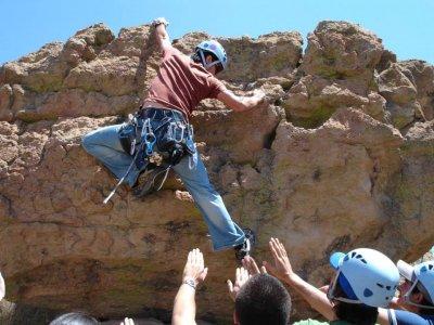 Escalada y rappel 6 horas cerca de Guanajuato