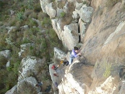 8h climbing & abseiling in Guanajuato's vicinity