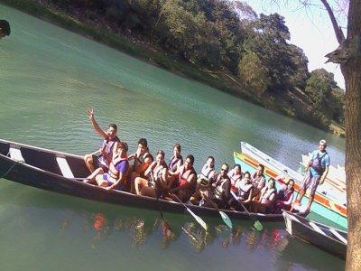 Recorrido en canoa por el Río Tampaón en Huasteca
