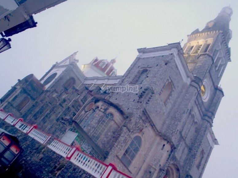 iglesia cuetzalan