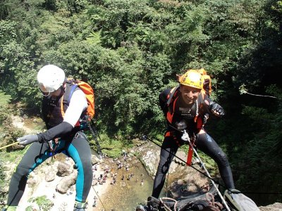 Speleology and canyoning in Cuetzalan.