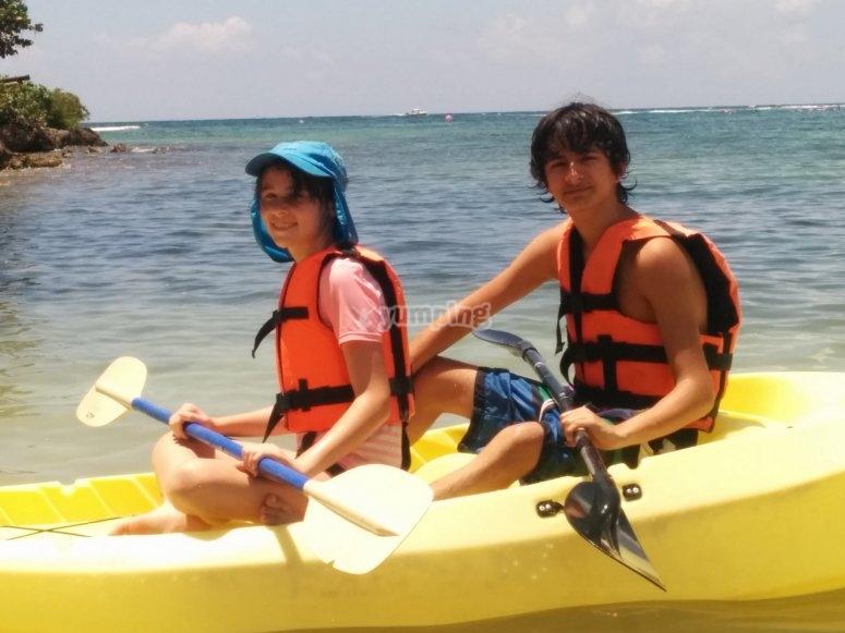 Kayak para menores