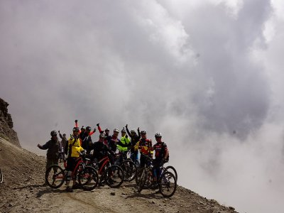 MTB tour from El Nevado to Zacango