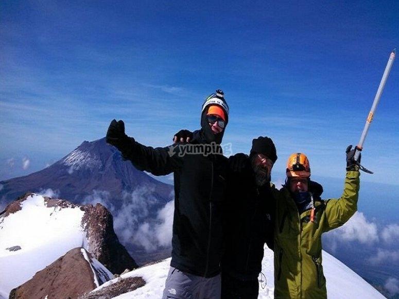 montañismo en el izta