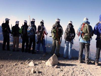 Ruta de 2 días de montañismo en el Iztaccihuatl
