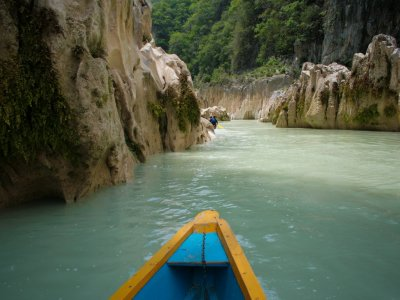 Canoe tour and rappel, Huasteca Potosina