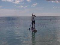 Paddle surf en la costa maya