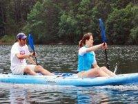 Kayak sur le lac