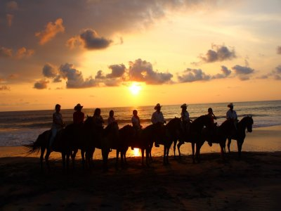 Sunset horse ride in Sayulita, 1 hour