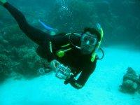 Buceo en el fondo del mar