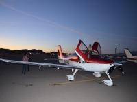 A light aircraft flight to propose