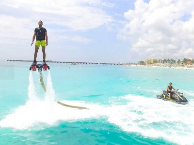 Flyboarding in Playa del Carmen + introductory class