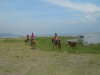 Horse back ride at Ajijic + snack