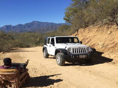Private Jeep tour across Cabo Pulmo + snorkel