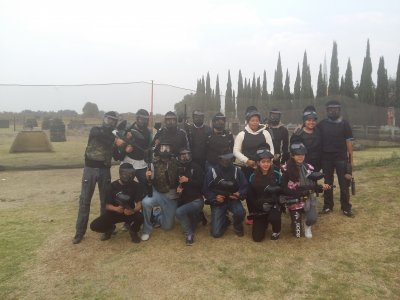 Paintball in Texcoco