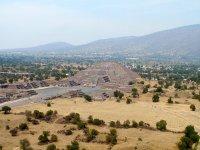 View towards the pre-Hispanic site