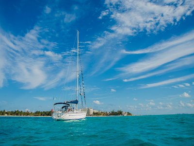 Sailing course at Cancun