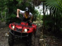 ATV in the Mayan jungle