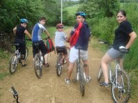 Cycling with family