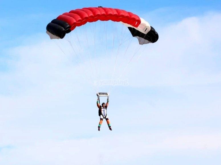 Curso de paracaidismo en Nuevo León
