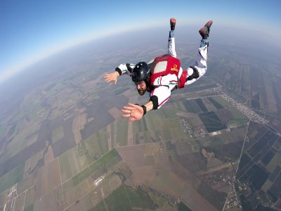 Parachute Course AFF Level 1 to 3 in Apodaca