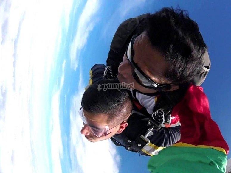 Volando en pareja en Nuevo León
