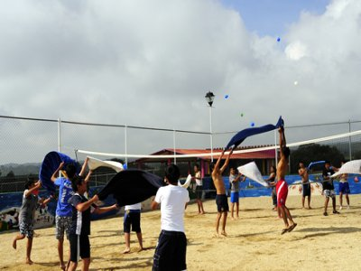 Fiesta infantil tematica de playa Tepotzotlán