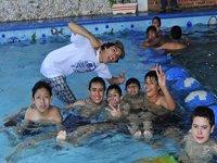 Kids party at the pool Tepotzotlán