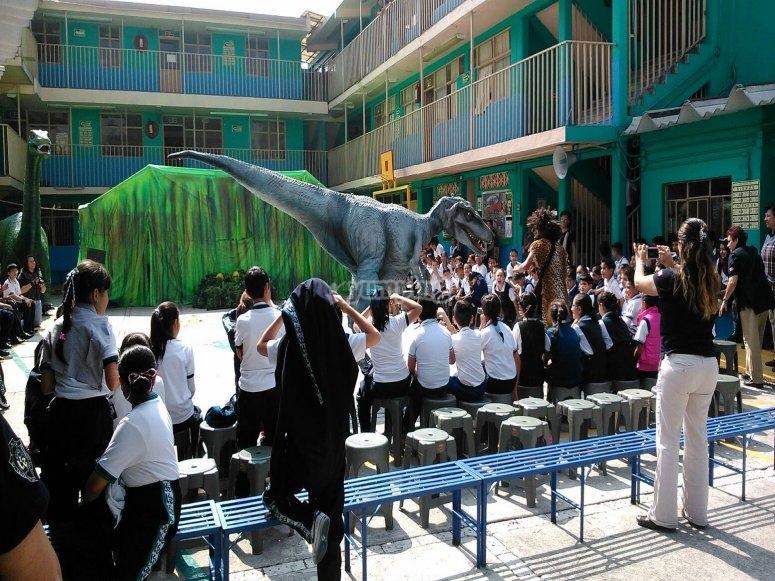 Fiesta con dinosaurios