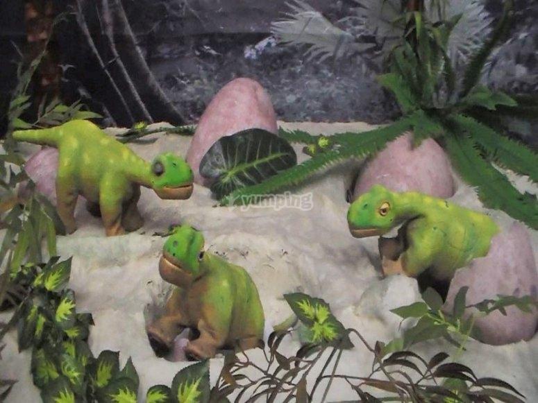 Bebés dinosaurio