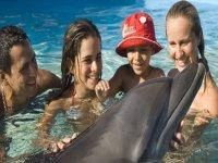 Swim with family