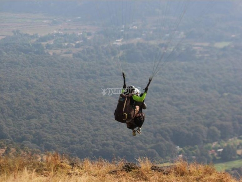 paragliding in federal district