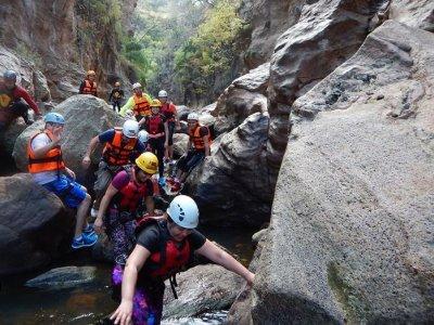 Canyoning in Paso de Vaqueros, Guanajuato